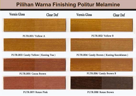 Contoh-warna-finishing-Melamine