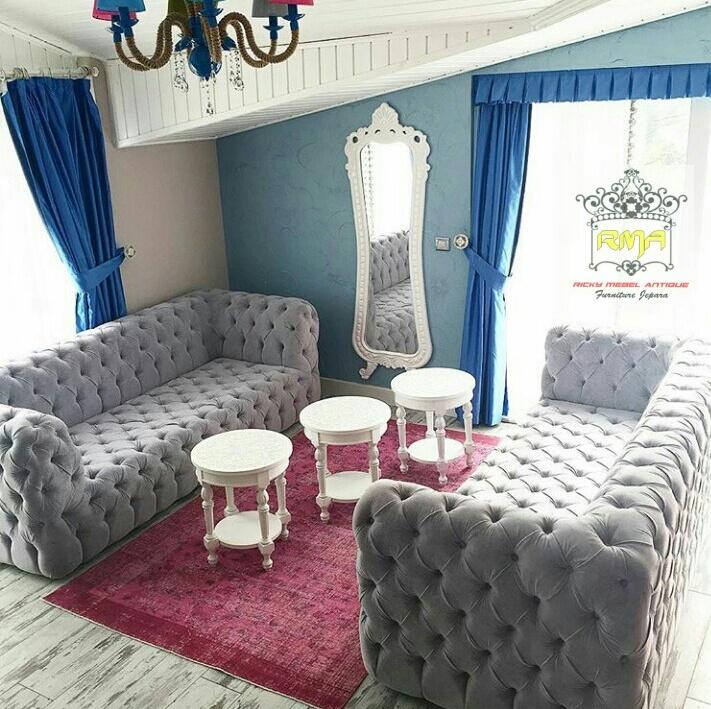 sofa vintage model coaster