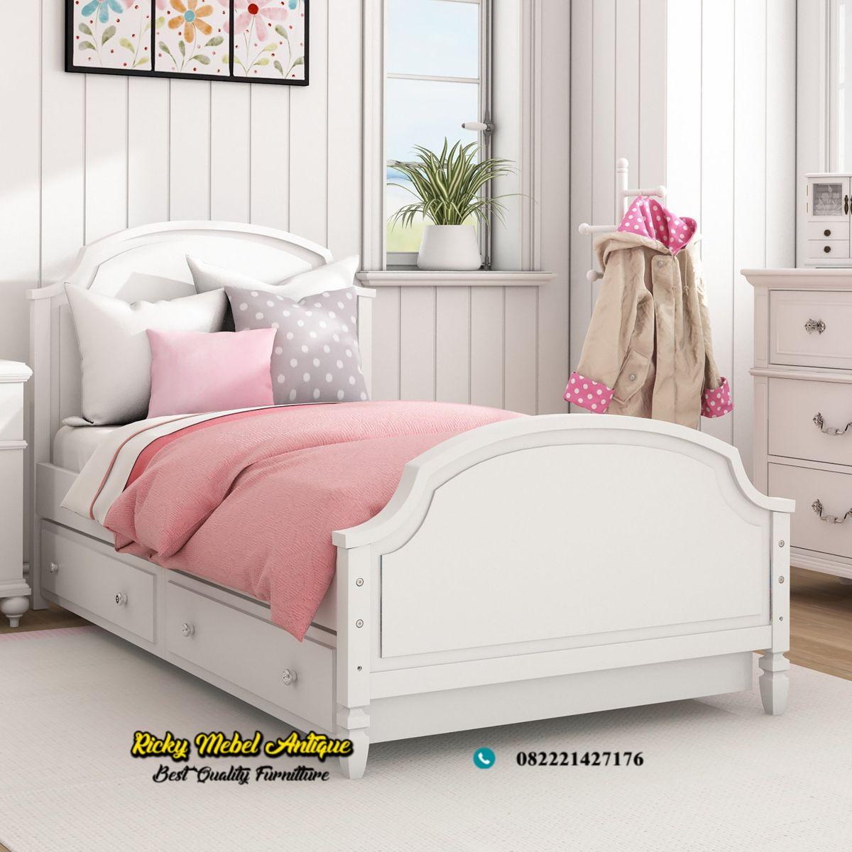 tempat tidur anak duco kombinasi laci