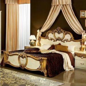 Tempat Tidur Gold Mewah