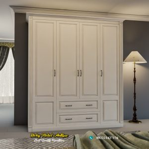 Lemari Pakaian Minimalis 4 Pintu