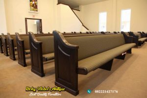 Bangku Gereja Jati terbaru