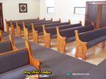 Bangku Gereja Minimalis Jati