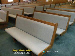 Bangku Gereja Kombinasi Jok