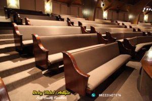 Bangku Gereja Jati Mewah