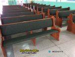 Bangku Gereja Jati Minimalis Terbaru