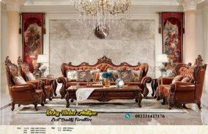 Set Sofa Tamu Jati Ukiran