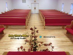 Bangku Gereja Jati Full Jok