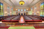 Bangku Gereja Jati Minimalis Eropa