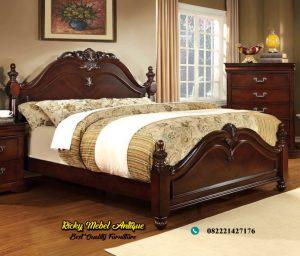 Tempat Tidur Jati Jepara Terbaru