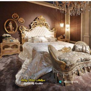 Tempat Tidur Ukir Italian Style