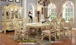 Set Meja Makan Ukiran Klasik