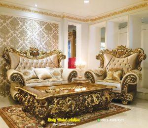 Set Sofa Tamu Ukiran Italian