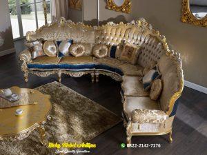 Sofa Tamu L Ukiran Mewah