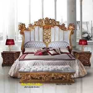 Desain Tempat Tidur Classic Jepara