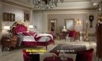 Set Tempat Tidur Mewah Jati Classic