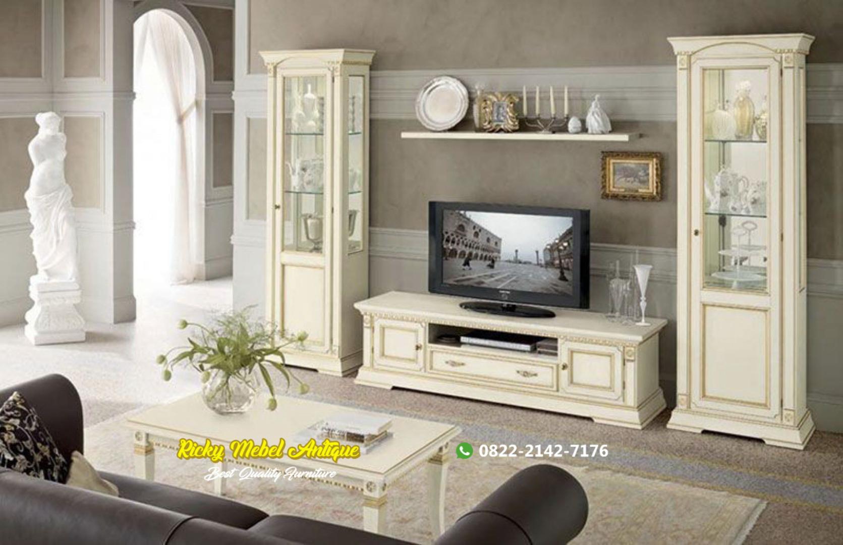 set bufet TV minimalis Jepara terbaru