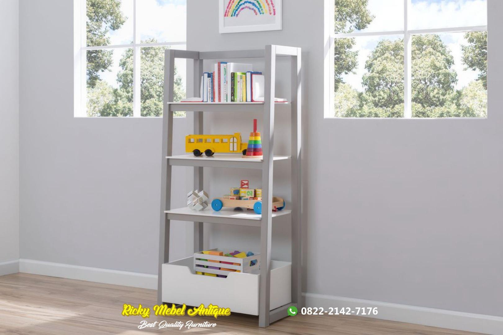 ak buku anak desain minimalis