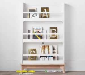Rak Buku Minimalis Jepara Terbaru