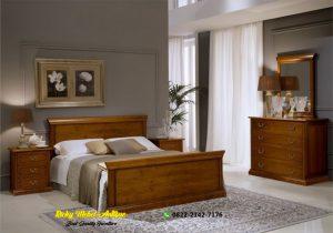 Set Tempat Tidur Minimalis Jati Jepara